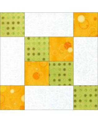 GO! Frayed 4-Patch Block Pattern (PQ10348)