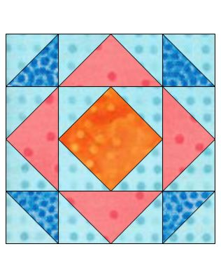 "GO! Qube Depression 6"" Block Pattern (PQ10604Q)"