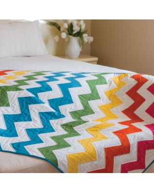 GO! Take Flight Bed Quilt Pattern (PQ10403)