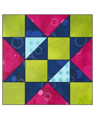 "GO! Free Trade 12"" Block Pattern"