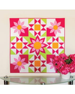 GO! Awesome Blossom Wall Hanging Pattern (PQ10437)