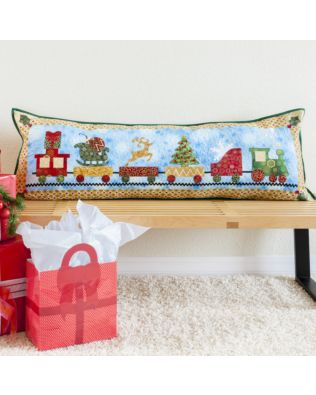 GO! Christmas Train Parade Pillow Pattern (PQ10678)