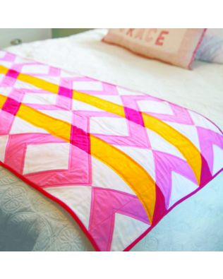 "GO! Qube 12"" Woven Bed Runner Pattern (PQ11015)"