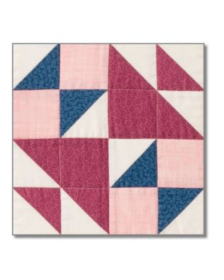 Block 7: GO! School Girl's Puzzle Two Block Pattern by Eleanor Burns