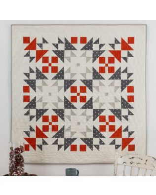 "GO! Qube 9"" Nordic Winter Quilt Pattern"