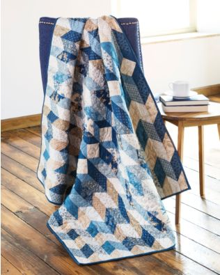 "GO! Qube 8"" Faux Braid Quilt Pattern"