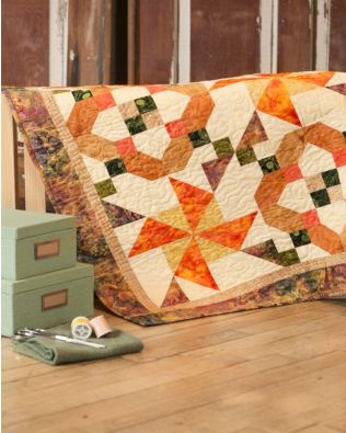 """GO! Qube 6"""" Spinner Squares Wall Hanging Pattern"""