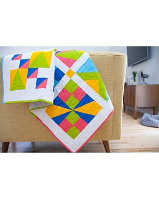 "GO! Qube 12"" Patch Party Sampler Quilt Pattern"