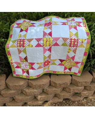 GO! Making Lemonade Throw Quilt (PQ11465)
