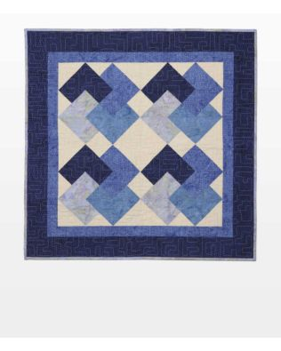 """GO! Qube 8"""" Cardtrick Baby Quilt Pattern"""