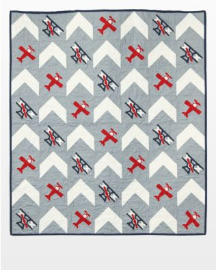 GO! Up in the Clouds Quilt Pattern