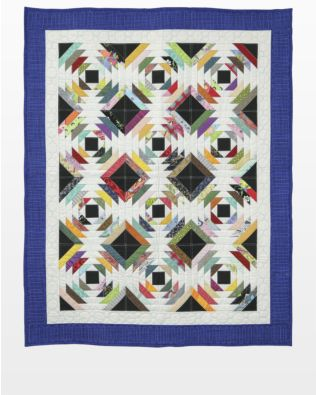 GO! Scrappy Pineapple Quilt Pattern