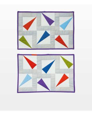 GO! Canoe Confetti Placemats Pattern