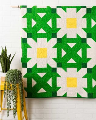"GO! Qube 10"" Daisy Patch Quilt Pattern"