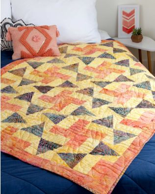 "GO! Qube 10"" Triangle in a Square Dance Quilt Pattern"
