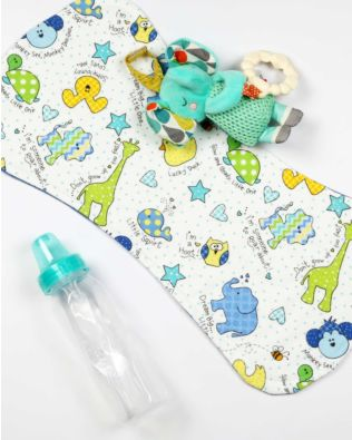 GO! DIY Baby Burp Cloth Pattern