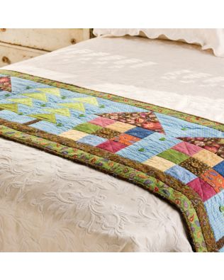 GO! Row House Bed Runner Pattern (PQ55971-10)