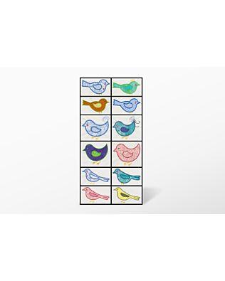 GO! Birds Embroidery Designs by V-Stitch Designs (VQ-Bdse)