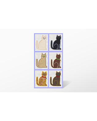 GO! Calico Cat by V-Stitch Designs