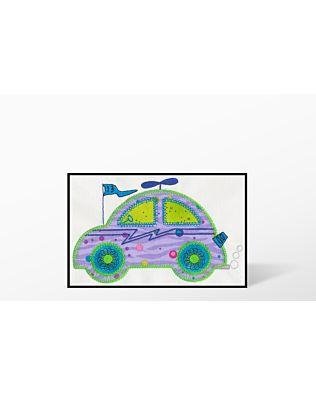 GO! Cute Car Single #2 Embroidery Designs by V-Stitch Designs (VQ-CCS02)