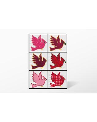 GO! Cardinal Embroidery Designs by V-Stitch Designs (VQ-Cde)