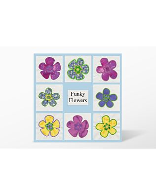 GO! Funky Flowers by V-Stitch Designs