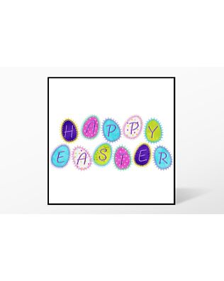 GO! Happy Easter Embroidery Designs by V-Stitch Designs (VQ-HAEA)