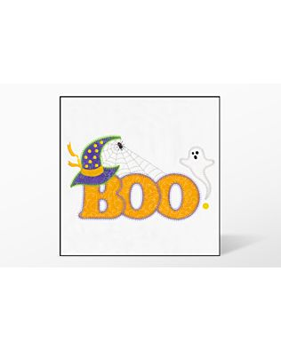 GO! Halloween Boo Embroidery Designs by V-Stitch Designs (VQ-HB)
