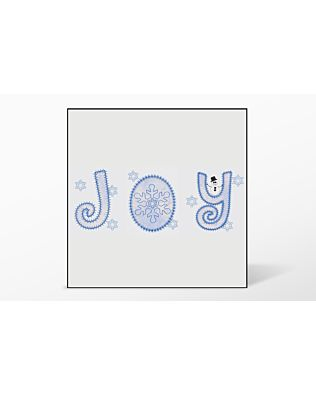 GO! Joy #3 Embroidery Designs by V-Stitch Designs