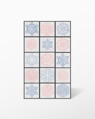 GO! Large Snowflakes Embroidery by V-Stitch Designs (VQ-LSF)