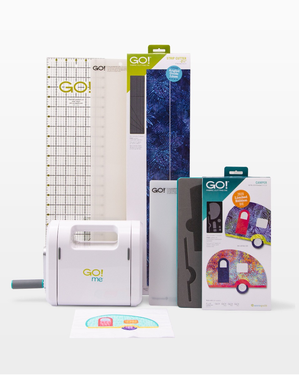 AccuQuilt GO! Me Gone Camping Bundle