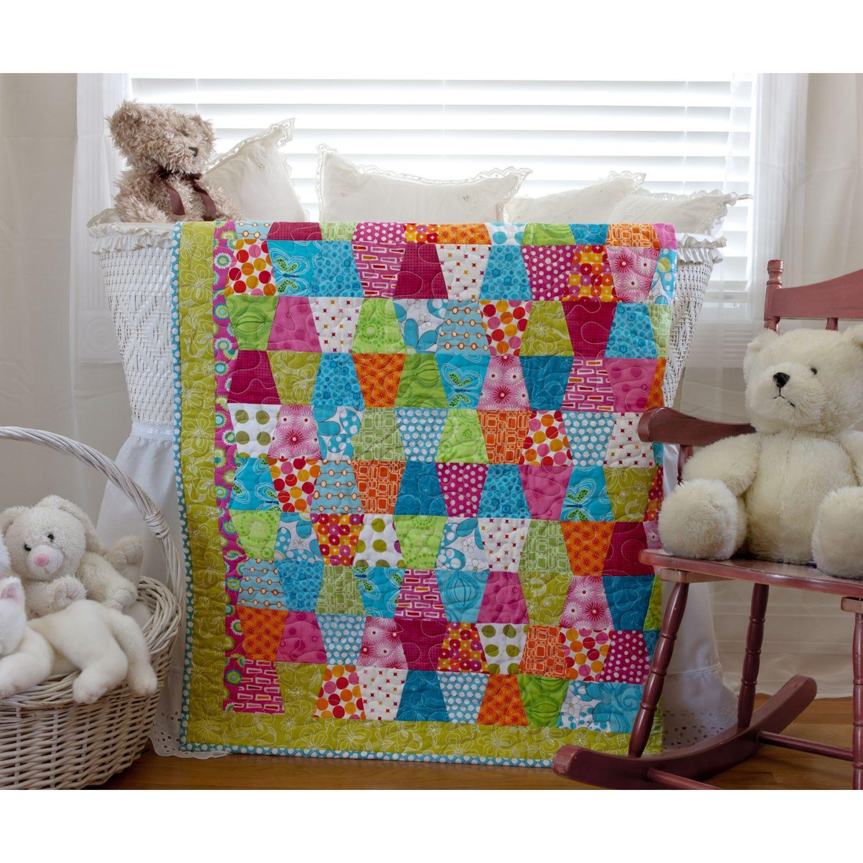 AccuQuilt GO! Tumbler Baby Quilt Pattern