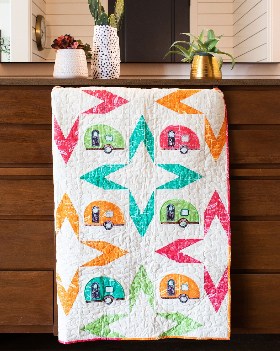 AccuQuilt GO! Going Camping Quilt Pattern Free Download