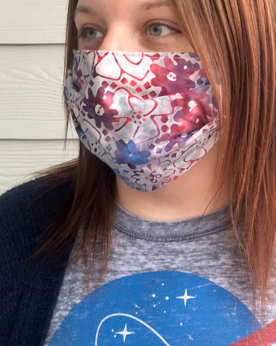 AccuQuilt GO! Face Mask Pattern