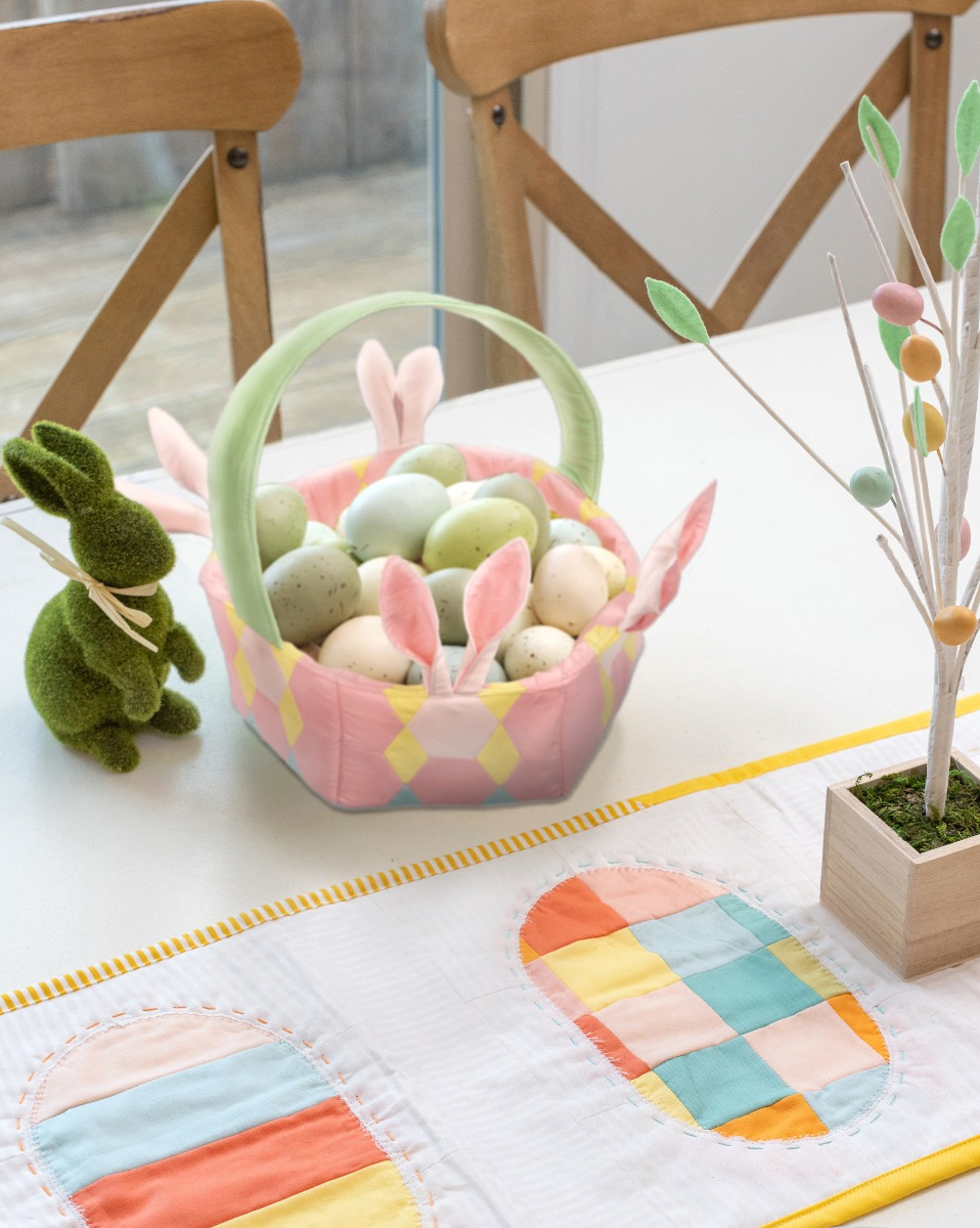 Free AccuQuilt GO! Easter Basket Pattern