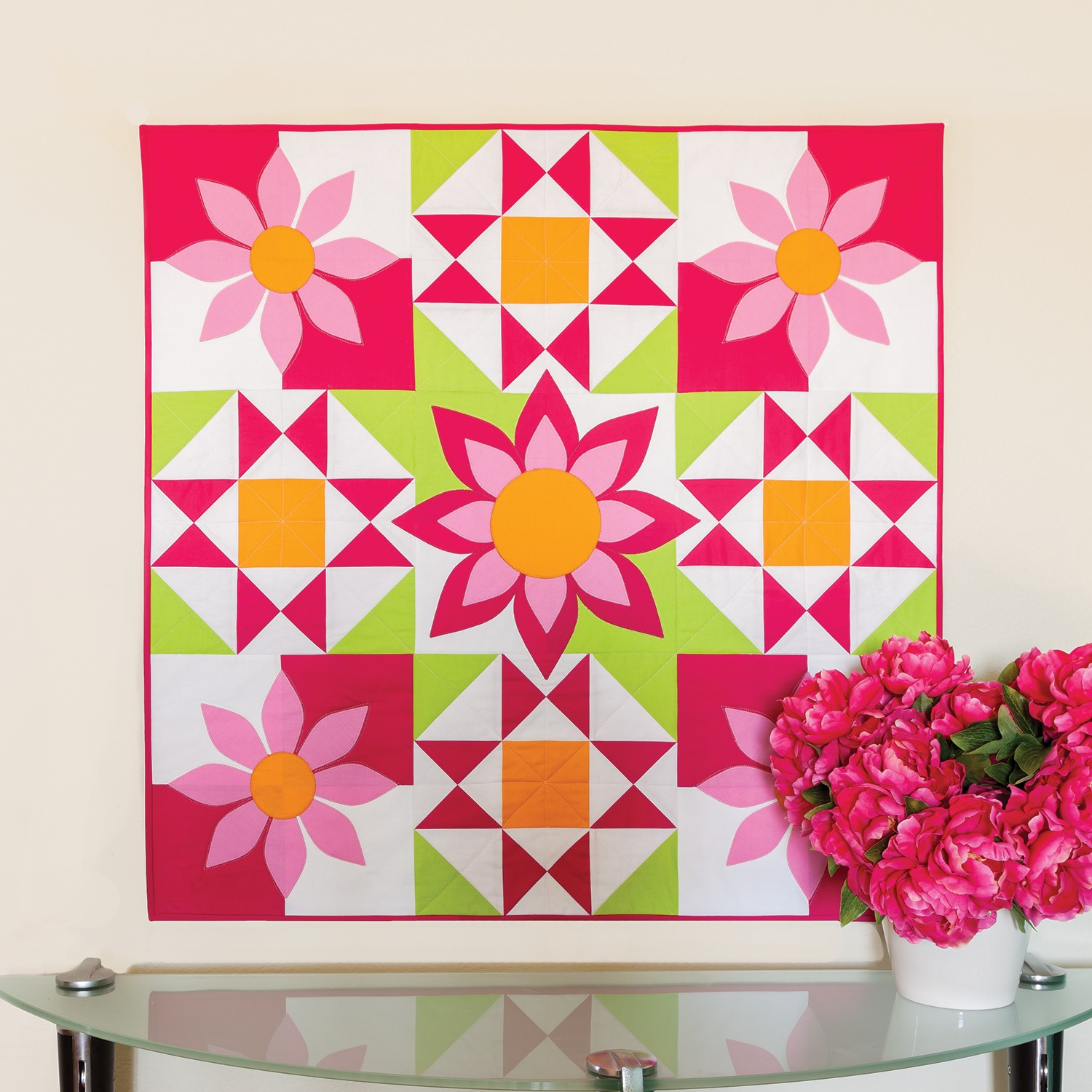 GO! Awesome Blossom Wall Hanging