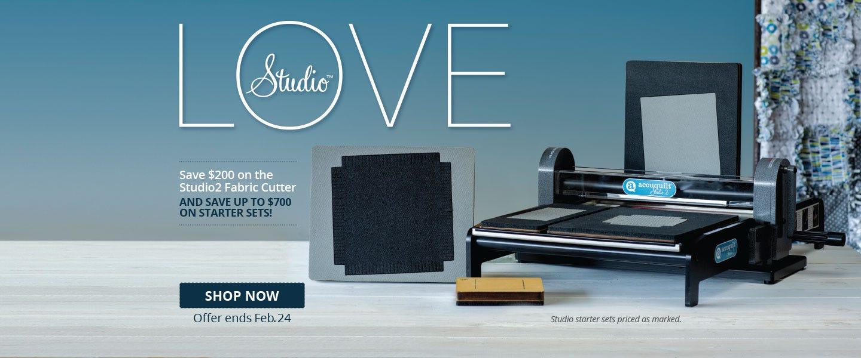 Save $200 On Studio 2 Fabric Cutter
