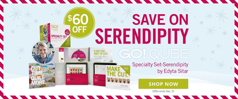 Save $60 on GO! Qube Seredipity