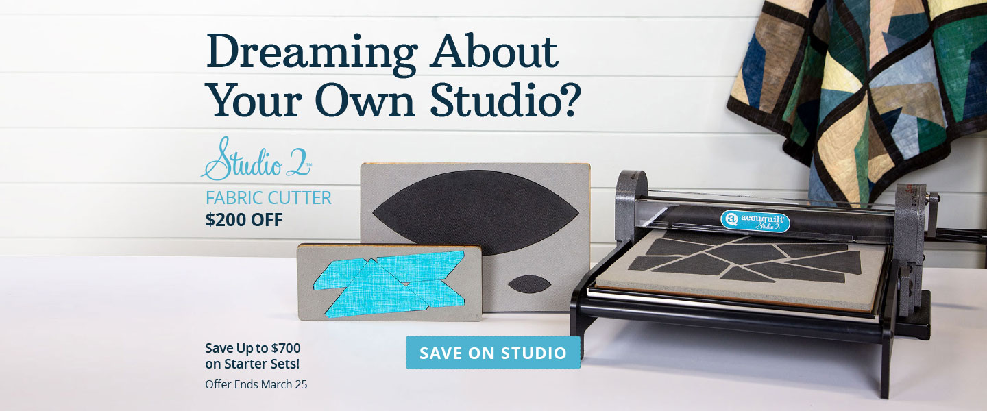 $200 Off Studio 2 Cutter and Up to $700 Off Starter Sets