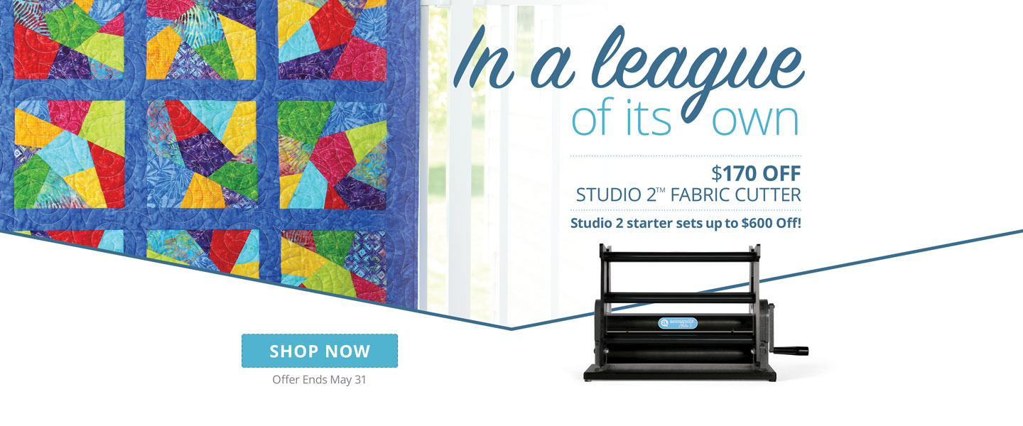 Save $170 On Studio 2 Fabric Cutter