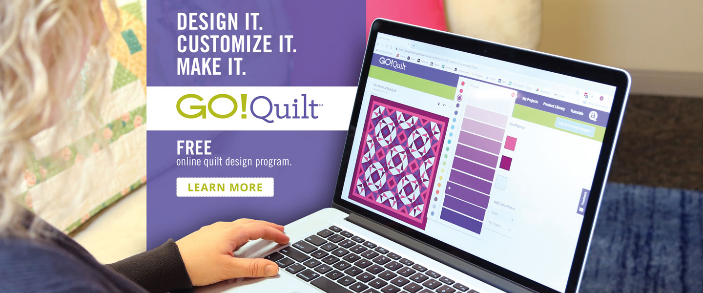 New GO! Quilt Design Tool by AccuQuilt