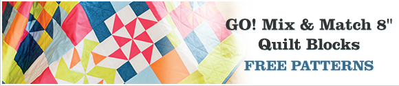 AccuQuilt GO! Mix and Match 8 inch Block Ideas
