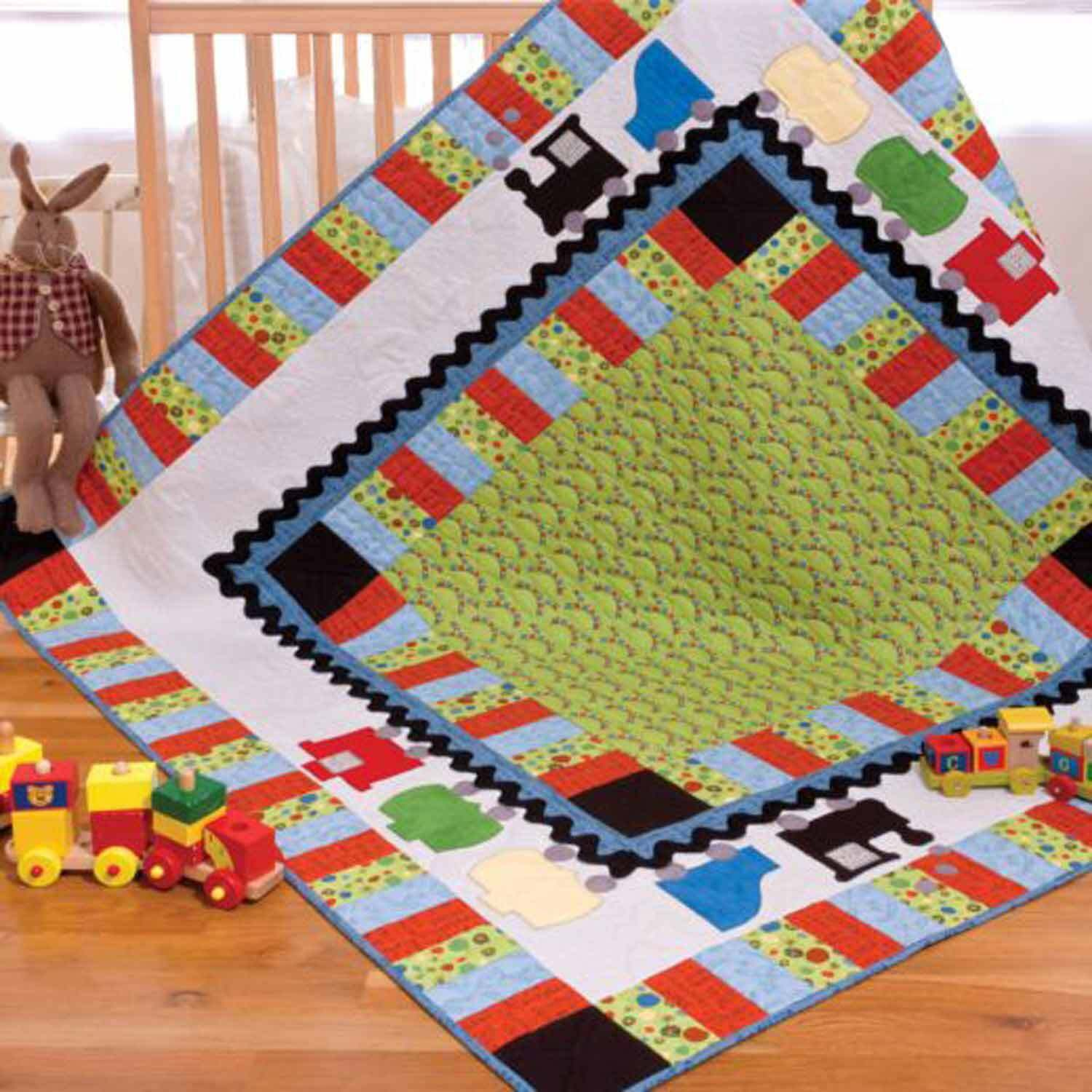 GO! On Track Quilt Pattern