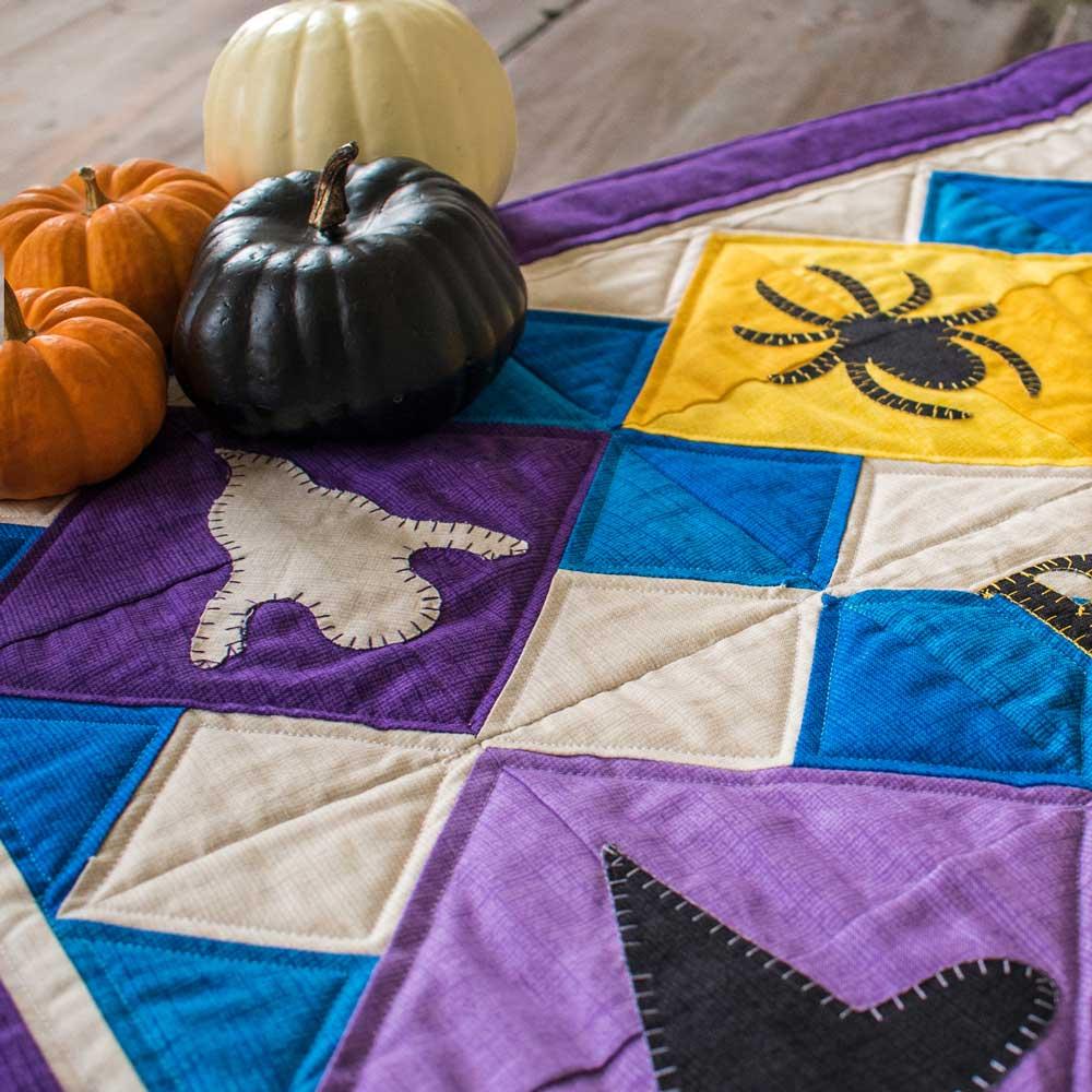 GO! Boo Halloween Table Runner Pattern
