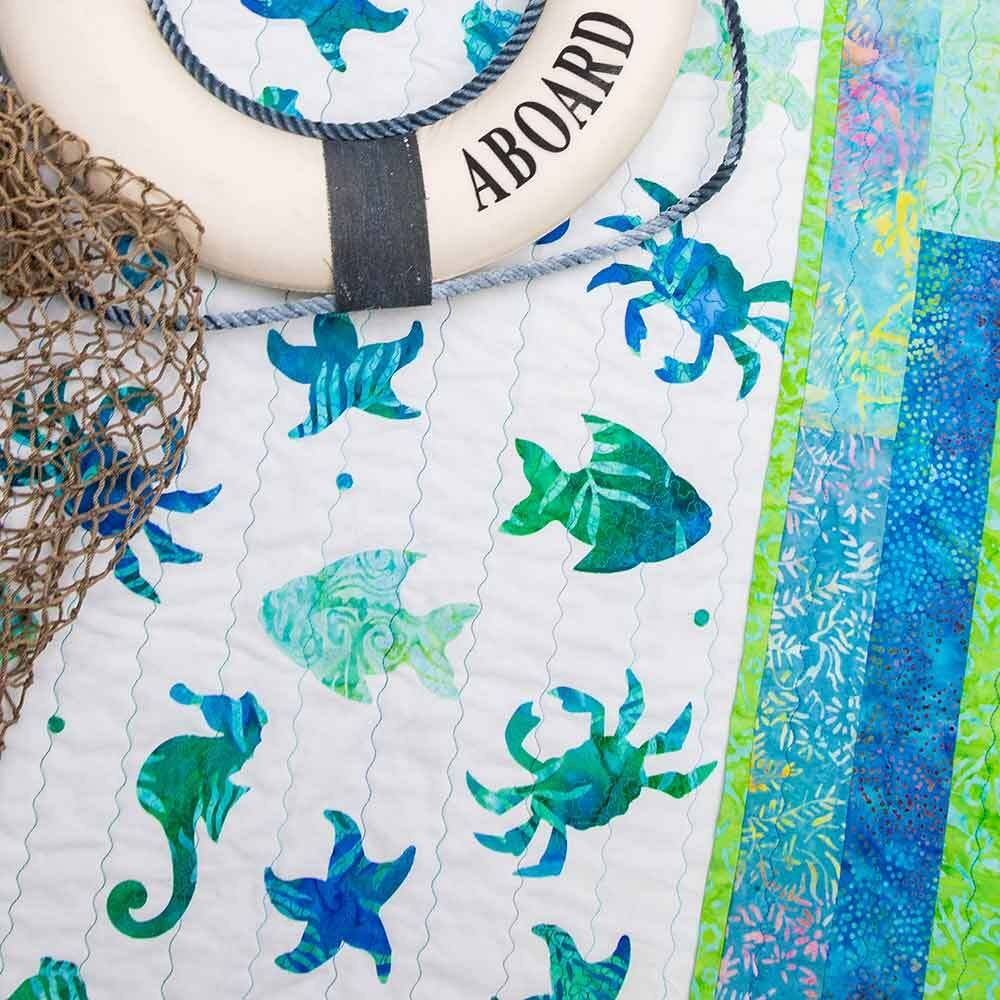 GO! Sea Dreams Quilt Pattern