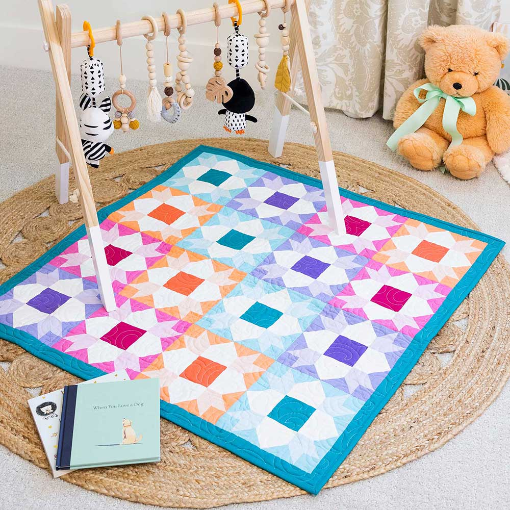 GO! Weathervane Baby Quilt Pattern
