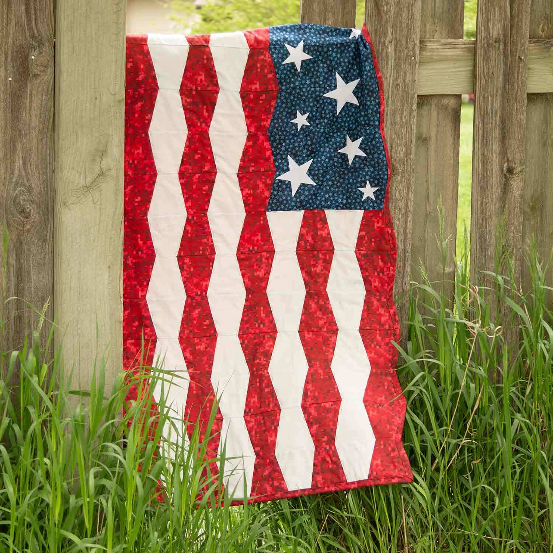 GO! Patriotic Tumbler Wall Hanging Pattern