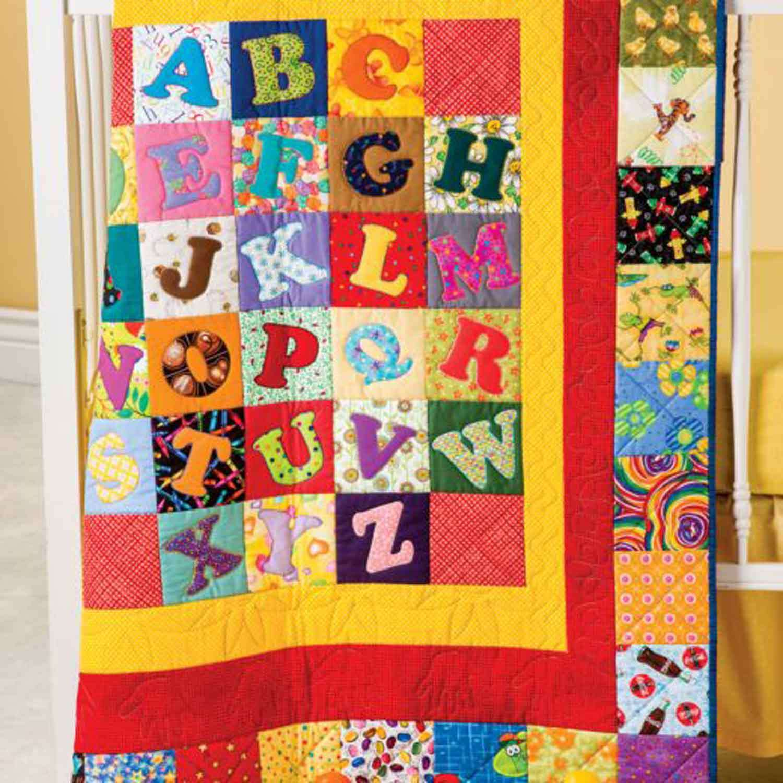 GO! Alphabet Soup Quilt Pattern