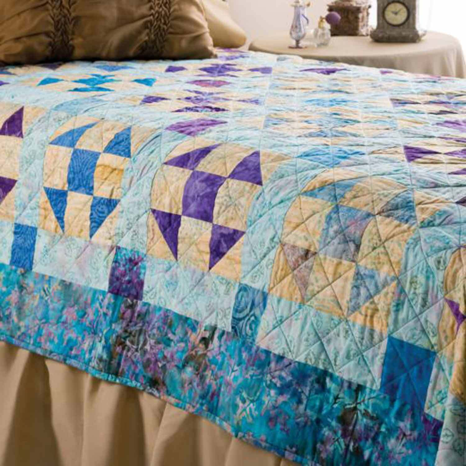 GO! Waterfall Quilt Pattern