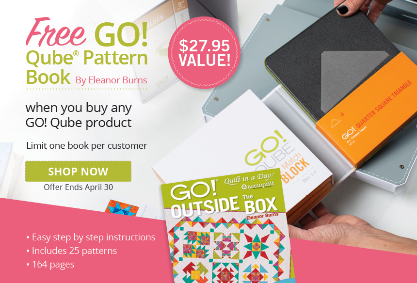 Free GO! Outside the Box Book with Qube Purchase